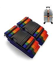 Correas para Maletas, Uplayteck Correas de Equipaje Cinturones de Equipaje para Bolsas de Viaje - Maleta Cinturón Accesorios de Viaje