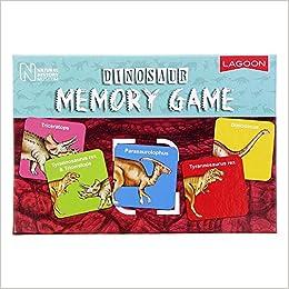 Nhm Dinosaur Memory Game Amazon Fr Livres Anglais Et Etrangers