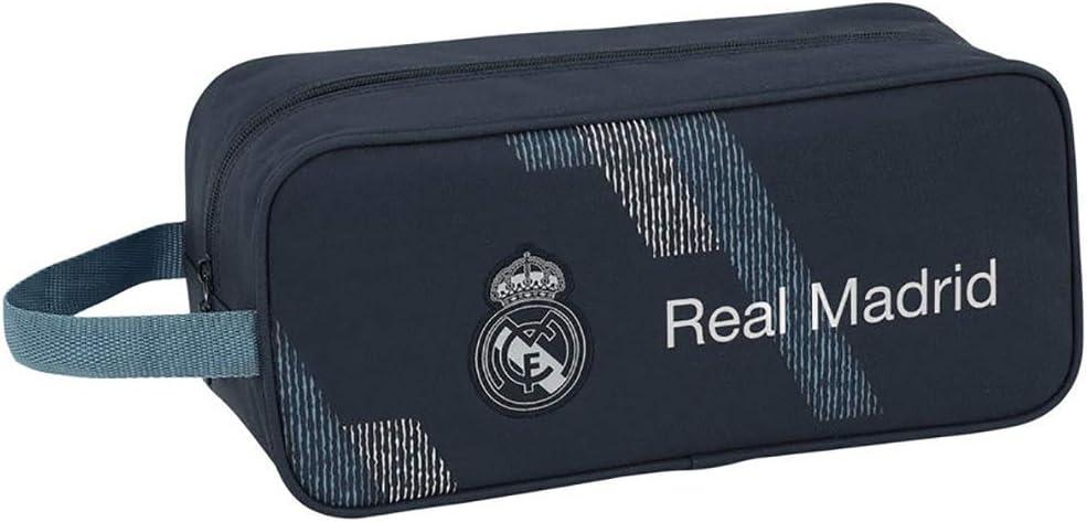Real Madrid CF Bolso Zapatillas zapatillero 34 cm.: Amazon.es: Juguetes y juegos