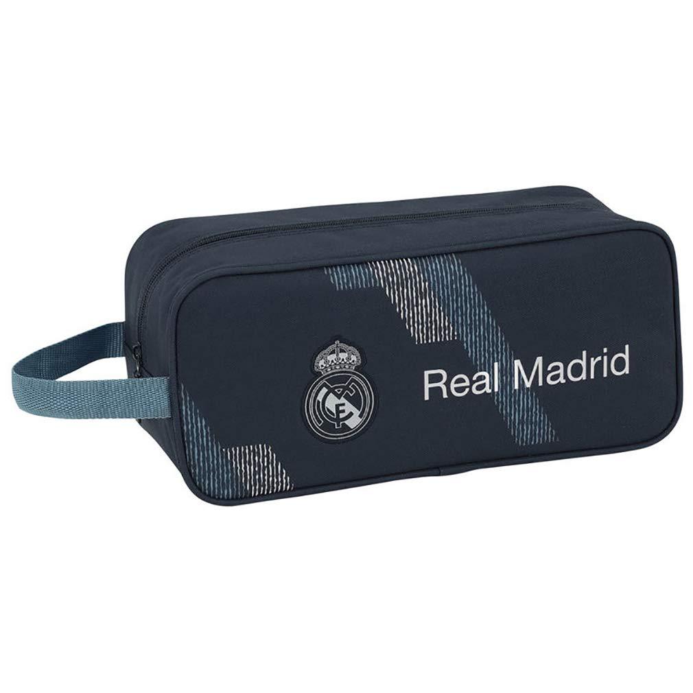 Safta Real Madrid 2 Bolsa para Zapatos 34 cm, Azul 811834194