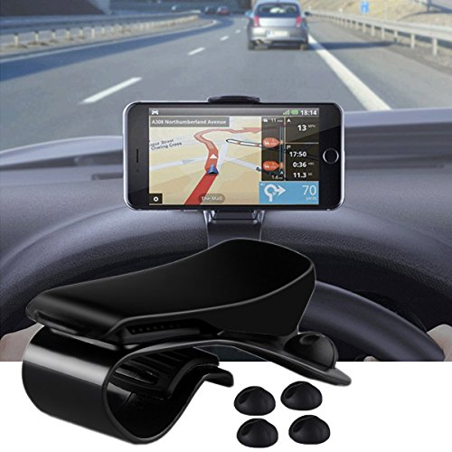 Air Vent Phone Holder for Car Universal Phone Mount with Adjustable Width and 4.8A//24W 2 USB Port Car Charge Compatible with iPhone Pixel Nexus and More Cell Phone Under 6 Inch,WinElec Galaxy Note