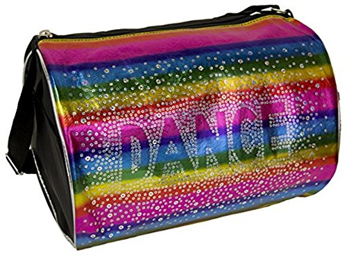 Dance-Duffle-Bag-Rainbow-Shimmer-Holographic-Sequin