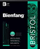 Bienfang Bristol 14-Inch by 17-Inch Paper Pad, Smooth Surface, 20 Sheets