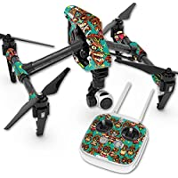 Skin For DJI Inspire 1 Quadcopter Drone – Crazy Tikis | MightySkins Protective, Durable, and Unique Vinyl Decal wrap cover | Easy To Apply, Remove, and Change Styles | Made in the USA