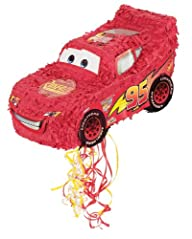 Hallmark 157909 Disneys Cars Pull-String Pinata