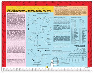 Emergency Navigation Card, 8.5