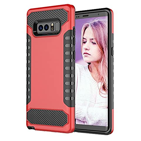 Asstar Galaxy Note 8 Case, Samsung Galaxy Note 8 Case, Slim Flexible Dual Layer Soft TPU Hybrid Hard PC Shock Absorption Rugged Protective Cover for Samsung Galaxy Note 8 2017 (Otterbox Privacy Screen Iphone 5)