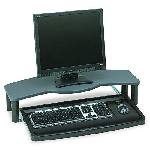 Kensington 60006 Comfort Desktop Keyboard Drawer With SmartFit, 26w x 13-1/2d, Black/Gray by Kensington