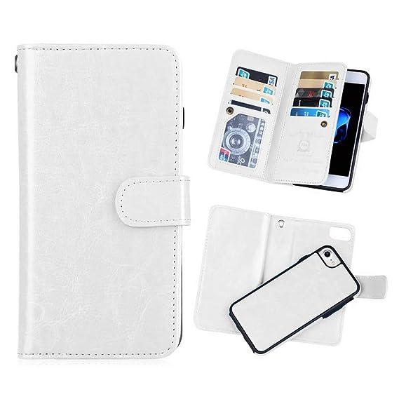 415bc19891b Amazon.com: iPhone 6 plus/6S Plus 2 in 1 Wallet Case,Hynice Folio ...