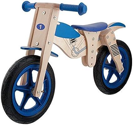 M-Wave Moto Bicicleta Infantil de Madera, marrón, 12: Amazon.es: Deportes y aire libre