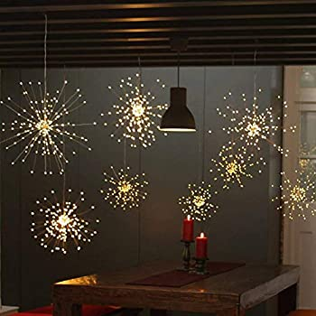 Amazon Com Twinkle Star 120 Led Firework String Lights