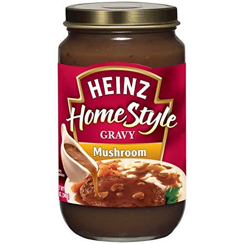 Heinz Home-Style Mushroom Gravy, 12 oz Jar (Pack of ()