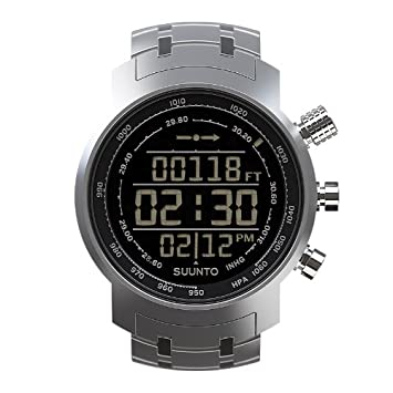 Suunto - Elementum Terra - SS014521000 - Reloj deportivo - Steel (acero) - Display fondo oscuro: Amazon.es: Deportes y aire libre