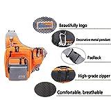 32*39*12CM iLure Multifunction Waterproof Shoulder Fishing Bag Canvas Carp Fishing Reel Lure Tackle Bag (Orange)