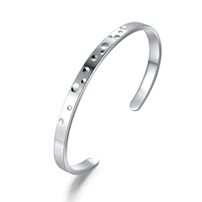 a45f72c1bfa Image Unavailable. Image not available for. Color: Carleen 925 Sterling  Silver Open ...