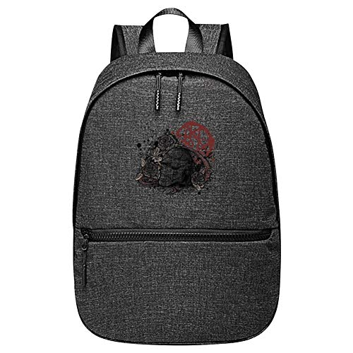 Bloody Memory Unisex 2019 Fashion Teen Backpack Black ()