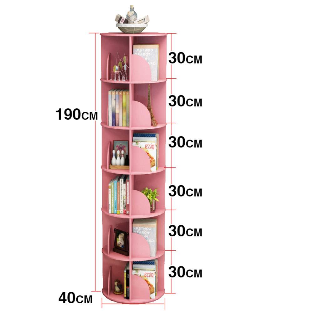 XIA シェルフ 保管ラック ストレージラック クリエイティブローテーションブックシェルフ360度シンプルな本棚現代的なシンプルなラック子供の書棚 (サイズ さいず : 6 tier) B07HCBHNMZ  6 tier