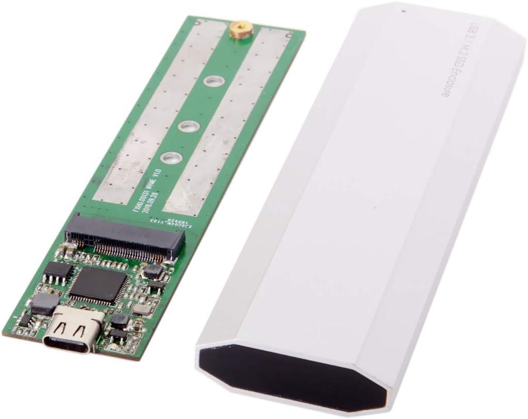 80mm USB-C USB 3.1 Type C M.2 NGFF SATA 2 Lane SSD Enclosure for E431 E531