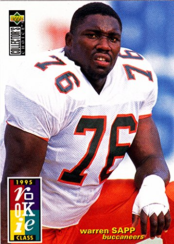 1995 UD COLLECTORS CHOICE WARREN SAPP ROOKIE CLASS