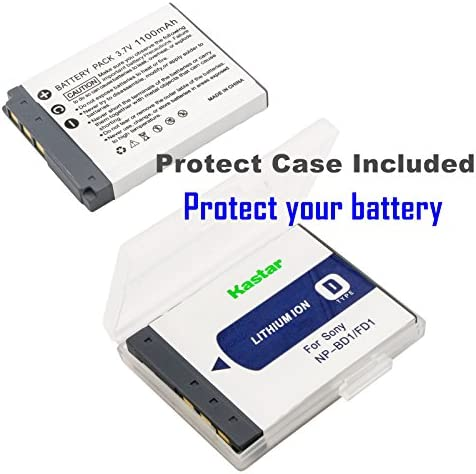 750 mAh BattPit trade; New Digital Camera Battery Charger Replacement for Sony Cybershot DSC-G3