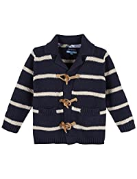Andy & Evan Boys' Striped Cardigan
