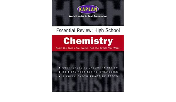 Kaplan Essential Review: High School Chemistry: Kaplan ...
