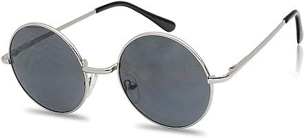 John Black 60'S Hippie Sunglasses Smoke Hippy Glasses