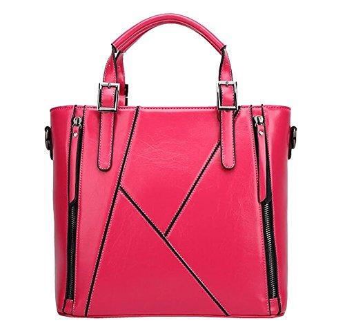 Lazutom - Bolso mochila  para mujer azul rosa roja