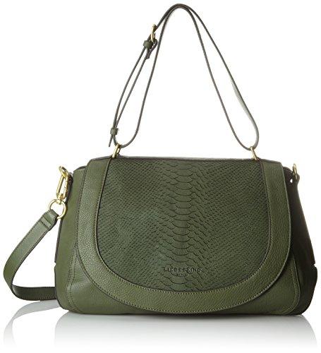 Liebeskind Hunter Calahp bolsos Shoppers Berlin de hombro Mujer Green y Dinard Verde qwvrCw