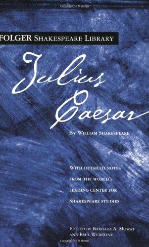 Download Julius Caesar (Folger Shakespeare Library) pdf epub