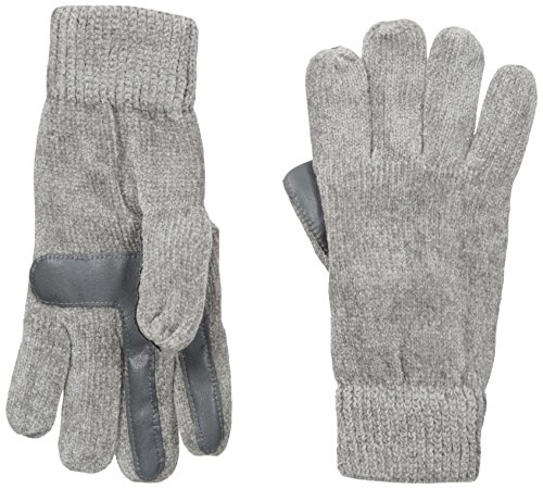 isotoner-womens-solid-chenille-knit-smartouch-gloves-chrome-one-size
