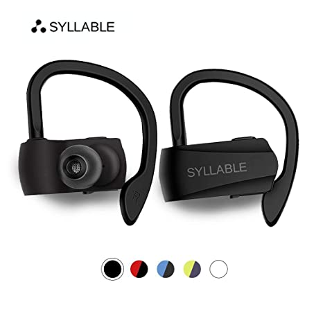 4f5fa778fd2 Syllable Bluetooth Headphones,Wireless Earbuds, HD Stereo Sound Wireless  Headset Bluetooth 5.0,Real