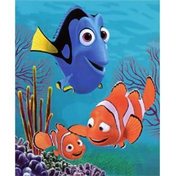 Amazon Disney Finding Nemo Fleece Throw Blanket Toys Games Interesting Disney Finding Nemo Fleece Throw Blanket