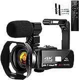 Videokamera videokamera 4K HD 48MP videokamera 3 tum HD pekskärm videokamera för Youtube digitalkamera nattvision…