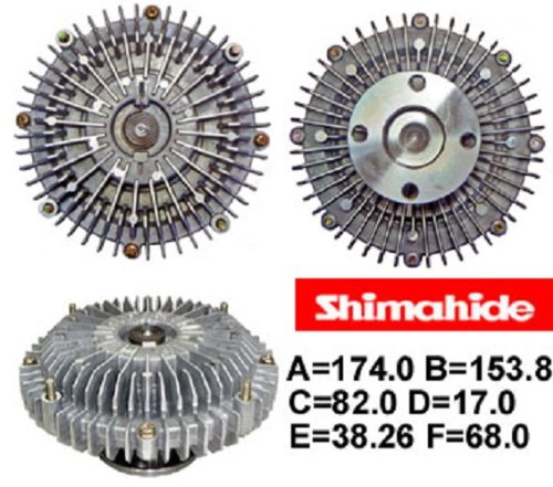 Eng Cooling Fan Clutch for Lexus GX470 LX470 Toyota Land Cruiser Sequoia Tundra