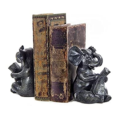 Elephant Bookends Bellaa Beautiful Decorative Book Ends Book