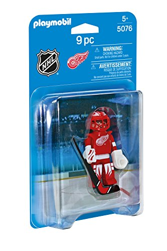 PLAYMOBIL NHL Detroit Red Wings Goalie (Detroit Red Wings Best Players)