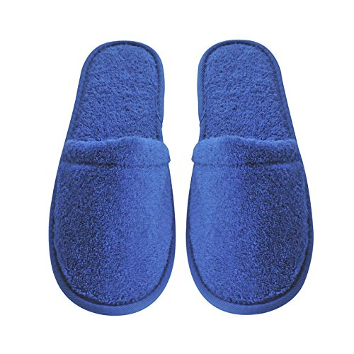 Arus Women's Turkish Terry Cotton Cloth Spa Slippers One Size Fits Most