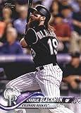 2018 Topps Baseball Series 2#431 Charlie Blackmon Colorado Rockies Official MLB Trading Card