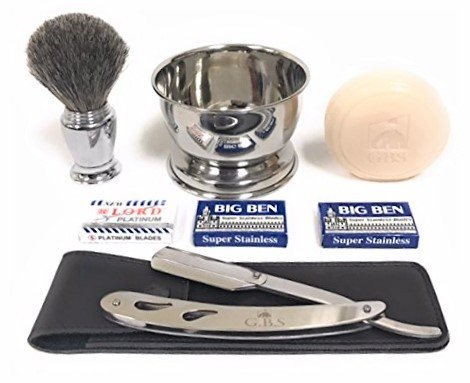 Piece Shaving Set Stainless Shavette product image