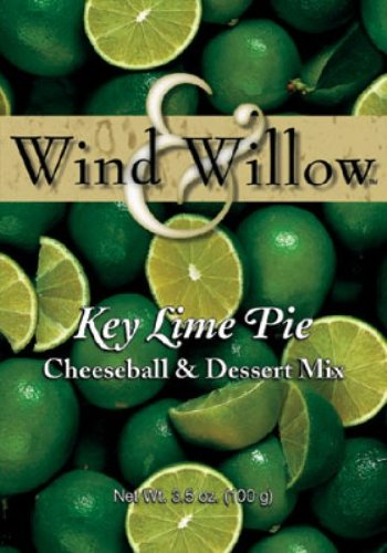 Wind and Willow Key Lime Pie Cheeseball & Dessert Mix - 3.5 Ounce (4 Pack) ()
