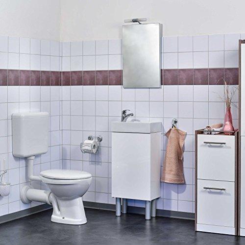FoLIESEN Fliesenaufkleber Für Bad Und Küche X Cm Weiss - Alte fliesen verschönern billig