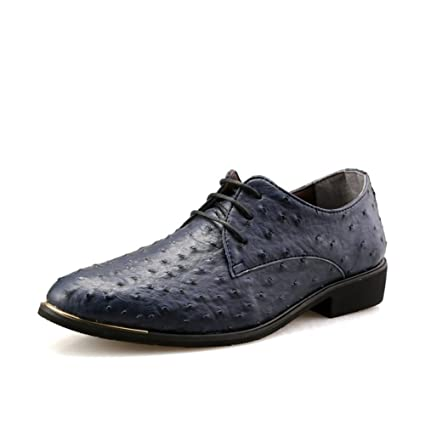 Zapatos de vestir de cuero de los hombres Zapatos formales ...