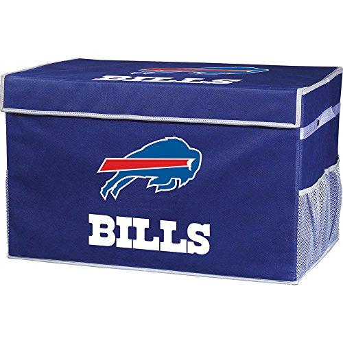 Franklin Sports Buffalo Bills Collapsible Foot Locker Storage Bins - Team Logo Home Organizer - 26