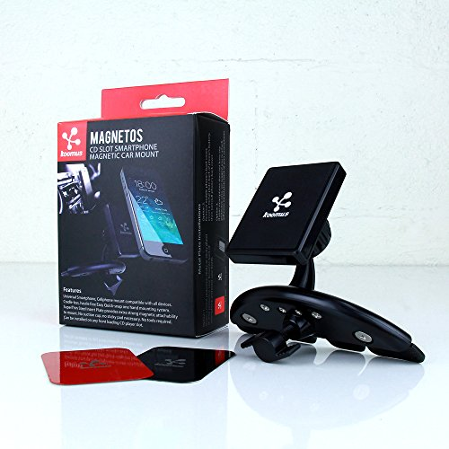 Koomus Magnetos CD Magnetic Cradle-less Smartphone Car Mount