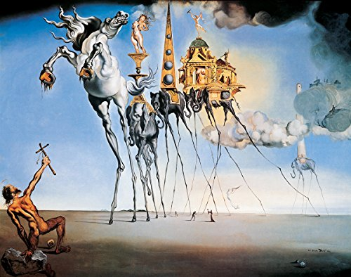 The Temptation of St. Anthony by Salvador Dali - Art Print / Poster 11x14 inches