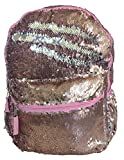 Rose Gold Luxe - Magic Sequins Surprise 16'' Fashion Backpack