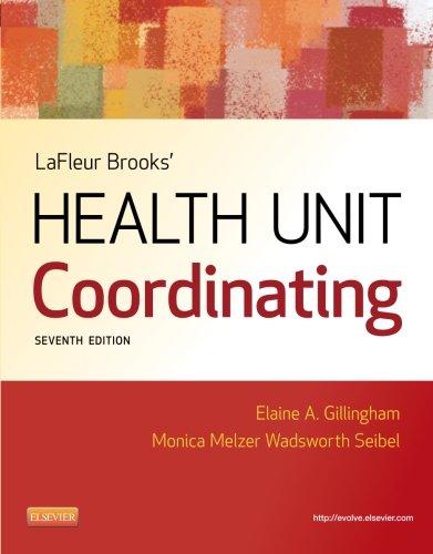 health unit book - 2
