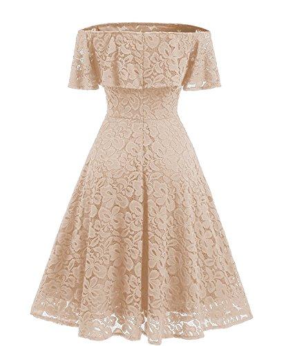 Adodress - Vestido - para Mujer Champán