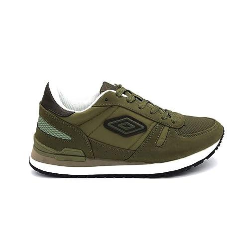 Umbro Sneakers Eva Jogging Oliva RFP38005S Oli (41 - Oliva)  Amazon ... 5b29ab2656f